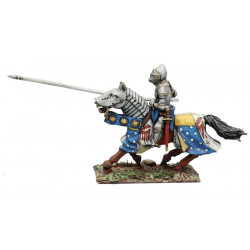 French Knight, charging 1420