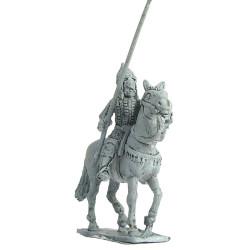 Cavalryman with lance and shield, 1250