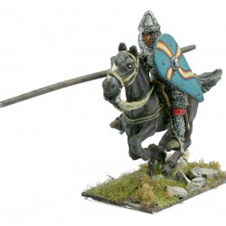 Norman knight with shield and spear ( for galloping horse).