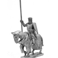 Knight XIII Century with lance and shield