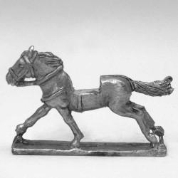 Light horse, full gallop