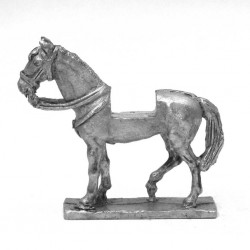 Heavy horse with staggered legs