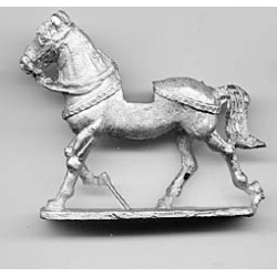 Horse with light harness 1200-1400, trotting