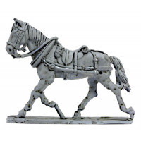 Draft horse for British Train 1815 ,trotting