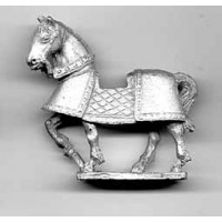 Horse with leather boiled cover 1400-1500