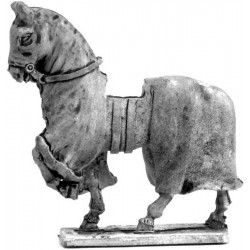 Covered war horse 1180 - 1350, wolking (2)