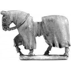 Covered war horse 1180 - 1350, wolking (3)