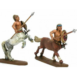 Centaurs with spear and shield