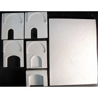 Resin walls for Medieval Kitchen KIT011