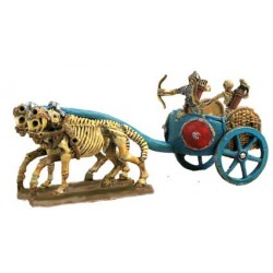 Skeleton Chariot with Archers