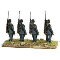 Austrian Jaeger, marching