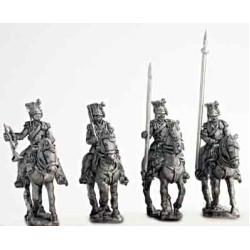 Ulan command group, walking