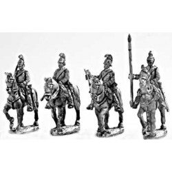 Dragoons walking Command Group