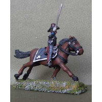 Officer of the Carabineers, charging