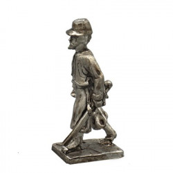 Officer of Zuavi with hat