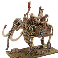 Skeleton War Mammoth with Catapult