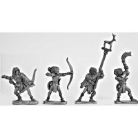 Wood Elf Archers Command Group