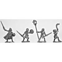 Wood Elf Swordsmen Command Group